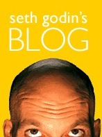 Seth writes the #1 ranked blog in the world on marketing...